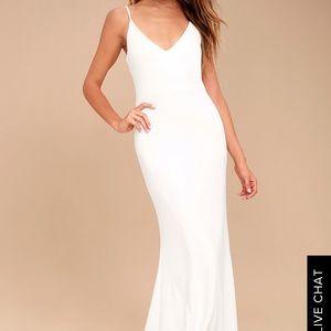 Infinity Glory White Dress